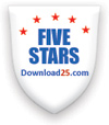 Download25.com Awards JobTabs Job Search & Resume 5 Stars